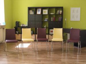 Raum für Gruppenarbeit in der Praxis EigenSinn